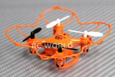 R/C Radio Control Micro QUADCOPTER W/ Gyro 2.4GH + FLIPPING UAV DRONE Orange