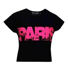 Abbigliamento neri in poliestere per bambine dai 2 ai 16 anni Taglia 11-12 anni