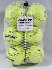 "Dudley 12"" Training Cork Softballs - Pack of 6"