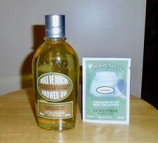 L'Occitane-Almond (Amande) Shower Oil-8.4 fl oz+FREE Milk Concentrate