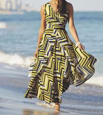 Ashro Jeniece Dress Yellow Print NEW NWT size 26W PLUS Surplice