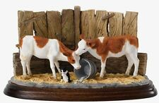 BFA Studio Every Last Drop (Ayrshire) James Herriot Cattle Ornament (A27298) NEW