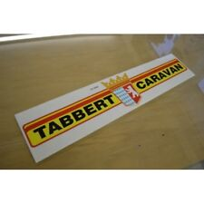 TABBERT Caravan Bar Sticker Decal Graphic - SINGLE