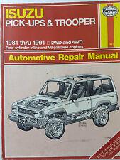 Haynes 1641 US Manual for Isuzu Pick-ups & Trooper 4 Cyl & V6 Petrol 2WD & 4WD
