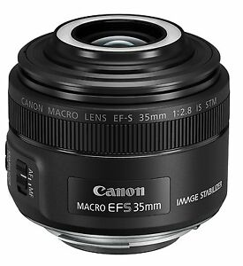New! Canon Single Focus Macro Lens EF-S35mm F2.8 macro IS STM APS-C from Japan!