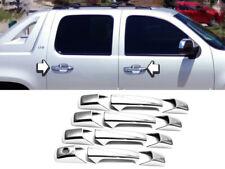 Chrome Door Handle Cover Trims Fit 2007-2013 Silverado-Tahoe-Suburban-Avalanche
