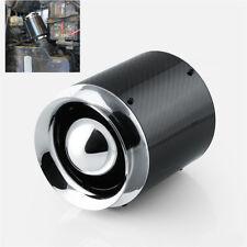 "Carbon Fiber Cold Air Filter 3"" Inlet For Short Ram Air Intake Pods Car Turbo 1x"