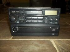 1998-2002 Honda Accord AM FM Radio Cassette Dolby With CD Player Stereo Factory