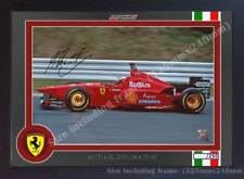 Michael Schumacher print photo poster signed autograph formula Framed 00131