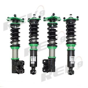 REV9 32 DAMPING HYPER-STREET 2 MONO TUBE COILOVERS FOR 97-01 MITSUBISHI MIRAGE