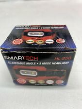 Smartech HL-250 Asjustable Angle Headlamp 3 Modes 250 Lumens Strobe
