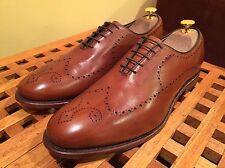 Allen Edmonds Fairfax Brown Brogue Oxford Shoes 10 D