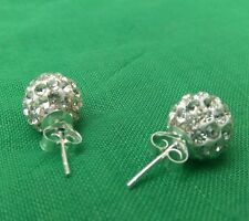 Handmade Surgical Steel Round Costume Earrings