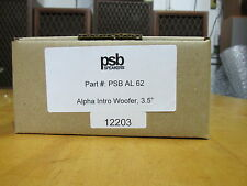 NEW PSB AL 62 Replacement Woofer for PSB Alpha Intro