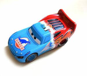 Disney Pixar Cars Racer King Chick Hicks Dinoco Lightning Mcqueen Metal Toy 1:55