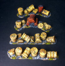 Barrel Barricade, wargames scenery for 40K, Sci-fi and post apocalyptic games