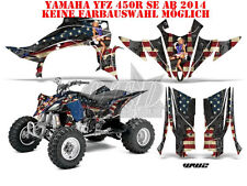 AMR Racing DECORO GRAPHIC KIT ATV Yamaha YFZ 450 04-14,yfz450r World era ww2 B