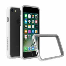 iPhone 8/7 Case RhinoShield Bumper [11 Ft Drop Tested] ShockProof Tech-White