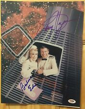 I DREAM OF JEANNIE LARRY HAGMAN BARBARA EDEN SIGNED 11x14 PHOTO PSA/DNA