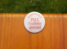 """Experience PMX Syndrome Gemini Products With Sound Ideas 2 1/4"""" Pinback Button"""