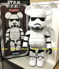 Medicom 2014 Be@rbrick Stussy x Star Wars 1000% White Stormtrooper Bearbrick 1pc
