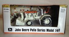 John Deere Orange 140 Patio Series Garden Lawn Mower Tractor Precision ERTL 1/16