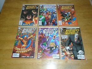 Justice League of America (2006-11) issues 0-60 complete run plus specials VF