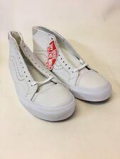 VANSMens Court Mid DX White Leather Men's Casual Shoe SZS US 10.5