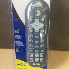 NEW, RCA Universal Remote RCR312W Partially Backlit Keypad