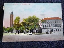 1908 Broad and Washington Streets in Newark, NJ New Jersey PC