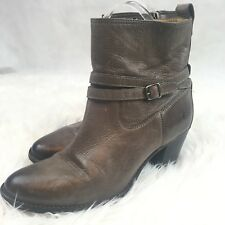 Frye Womens Gray Leather Boot Sz.10