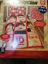 Official One Direction 'BOYFRIEND' Single duvet Cover Set 1D Bedding Reversable