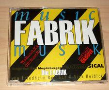 CD Maxi-Single -  Die Fabrik - Rockmusical