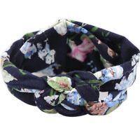 Baby Toddler Girl Kids Cotton Hairband Turban Knot Cross Headband Headwrap Newly
