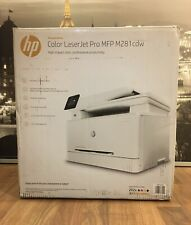 HP MFP M281cdw Color LaserJet Pro All-In-One Printer, Fax, Scan & Copy