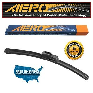 "AERO 13"" Front Premium All Season Beam J-Hook Windshield Wiper Blade"