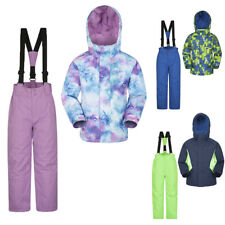 Mountain Warehouse Kids Ski Jacket & Trousers Pants Set - Snowproof Boys Girls