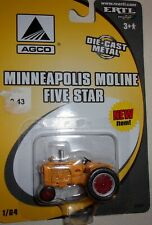 1/64 Ertl Minneapolis Moline Five Star Tractor