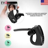 Wireless Bluetooth 4.0 Handsfree Stereo Earphone Headset For Samsung iPhone HTC