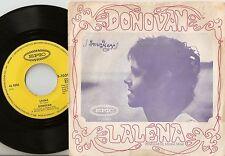 DONOVAN LALÉNA & AYE MY LOVE GERMAN 45+PS 1968 BEAT PSYCH PROG DYLAN