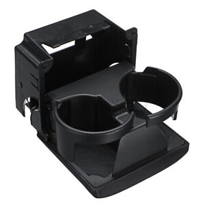 For Subaru Outback Legacy 2005 2006 2007 2008 2009 Black Rear Console Cup Holder