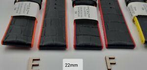 Bracelet Montre ZRC GRAINE CARBONE (Synthétique) Étanche 20.22.24mm