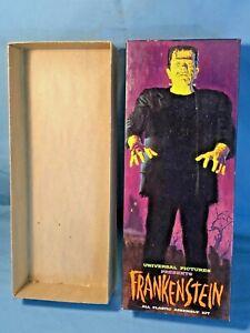 Vintage Original 1961 Aurora Frankenstein Model 423-98 - BOX ONLY - Great Shape!