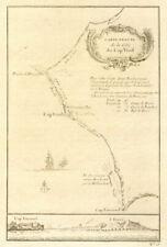 More details for 'carte exacte de la côte du cap-verd'. cap vert, dakar, senegal. bellin 1746 map
