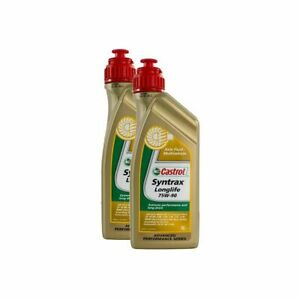 Castrol 2 Litres Syntrax Longlife 75W90 Fully Synthetic Diff / Axle Oil / Fluid