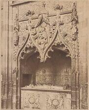G1939 France - Eglise de Folleville - Tombeau de Raoul de Lannoy - 1936 print