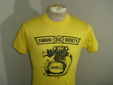 Vtg 80s 50/50 SCREEN STARS YAMAHA 650 SOCIETY Motorcycle T-shirt Adult Small EUC
