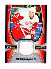 2005/06 UD POWER PLAY SPECIALISTS CARD # TS-HA DERIAN HATCHER DETROIT RED WINGS