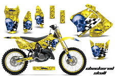 Suzuki RM 125/250 Graphic Kit AMR Racing # Plates Decal Sticker Part 01-09 CSBY