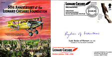 50th Anniv Leonard Cheshire Foundation Signed Lady Ryder (wife )